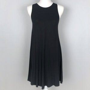 Old Navy black sleeveless swing summer dress (XS)